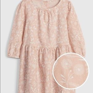 Baby gap dull rose dress 2T